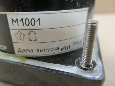 Voltmeter М1001 scale 0-100V accuracy class 1.5 USSR 1985 3