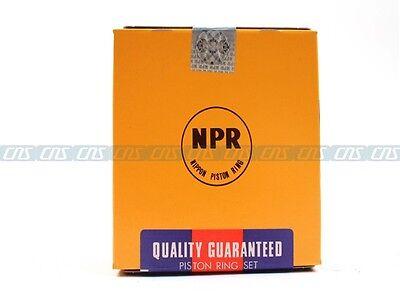 NPR Piston Rings Fit 03-10 Honda Accord CR-V Element 2.4L DOHC K24A4 K24Z1 K24A8