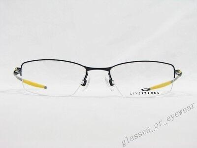 1a1d27f229 ... Eyeglass Frames-Oakley TRANSISTOR 22-235 LIVESTRONG Polished Black 54mm  Glasses 3