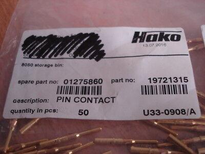 Brand new pin contact x50  (Hako part no:  01275860) 2