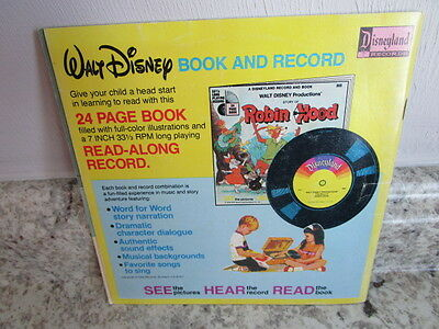 Vintage Disney See Hear Read Storybook The Rescuers 1