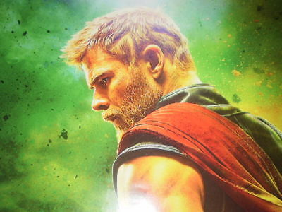 Movie Thor Ragnarok Poster Original Marvel 2017 27x40 Theater Ds S Sided 8
