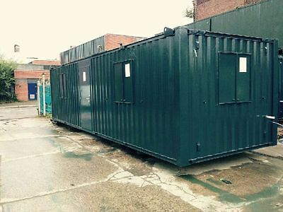 32ft x 10ft Anti Vandal Office Container - Excellent Condition 2