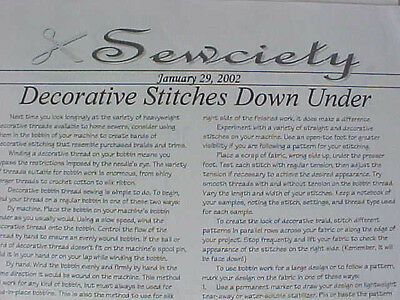 Patterns Lot Sewing Instructions Workshop Projects Mother Goose Book Advent 7