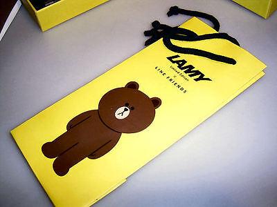 LAMY Safari Füllhalter für Südkorea: Line Friends: BRAUN! Geschenketui 9