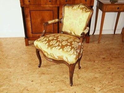 Baroque Chair Armchair Louis XV Art furniture Rococo Antique Vintage Type 9