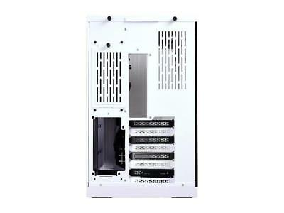 LIAN LI PC-O11 Dynamic White Tempered glass on the front, and left sides. Chassi 7
