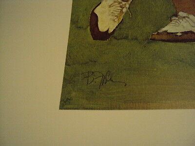 "Bart Forbes golf art print  "" The Golfer "" Vintage Male   SMALLER SIZE PRINT 6"