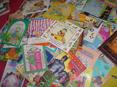 Lot of 10 Childrens Reading Bedtime-Story Time Kids BOOKS RANDOM MIX UNSORTED 10