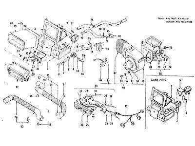 Datsun 240z 260z 280z Engine Heater Hose Elbow Water Connector New