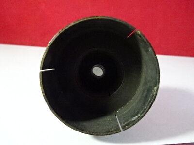 Laiton Vintage Antique Bausch Lomb Miroir Microscope Pièce Optiques Tel Quel 4