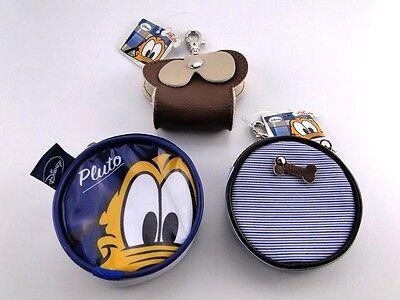 Disney Pluto & Minnie Hunde & Katzen Accessoires Dispenser Börse Etui NEU! 2