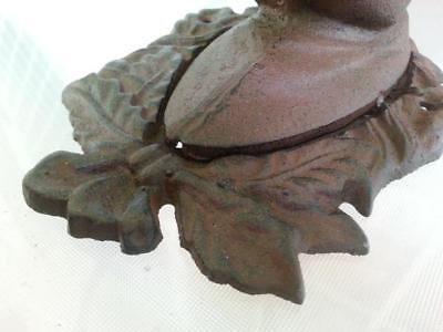 Cast Iron Antique Style Horse Head Door Knocker / Cottage Towel Ring Rustic 5