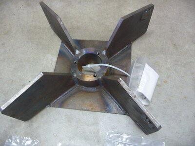 New 18090 Trac-Vac Trac Vac Leaf Vacuum Impeller Fan Turbine Old Style 1080