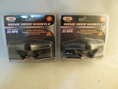 4 Ultrasonic Car Deer Warning Whistles - 2 packs - auto safety alert device 5