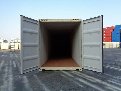 Double Door(DD) - 40' HC New / One Trip Shipping Container in El Paso, TX 8