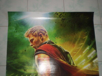 Movie Thor Ragnarok Poster Original Marvel 2017 27x40 Theater Ds S Sided 2