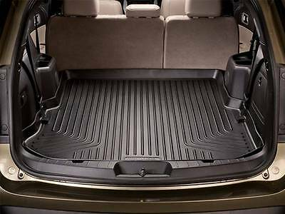 ... 2011 2017 Jeep Grand Cherokee Black Husky Liners WeatherBeater Cargo  Liner 2