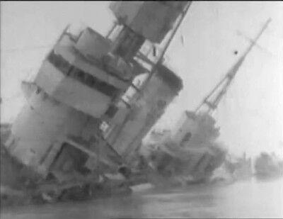 6-Captured Japanese Navy Fleet WW2 Films Submarine I-30 5