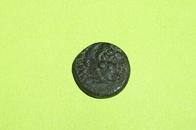 ANCIENT GREEK COIN hercules LYSIMACHIA THRACE corn wreath script HENDIN COA rare 2