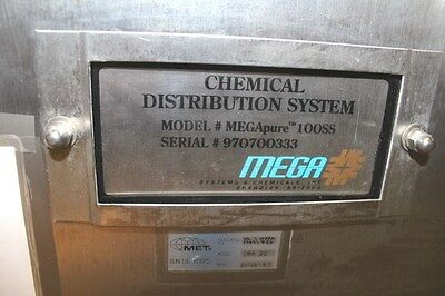 Mega Fluid Systems  MEGApure10SS  Chemical Delivery System 6