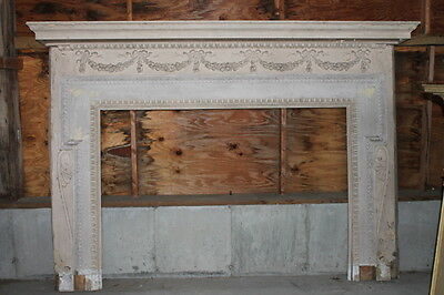 Spectacular Massive Fireplace Mantel Mantle from NY Mansion Palace 2