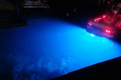 Blue Ykcd B Led Boat Drain Plug Light New Double Head With Center Access
