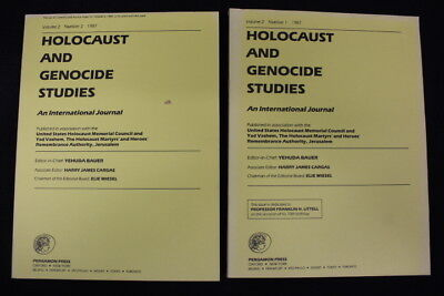 Lot of 10 Holocaust and Genocide Studies Journals and Book c. 1980s