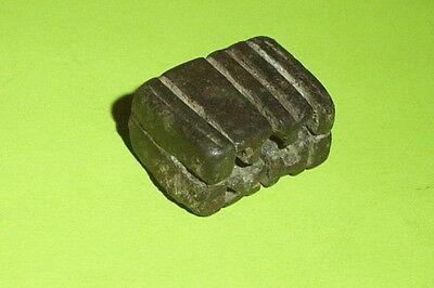 SCARCE Ancient ROMAN AMULET KEY inscription TYXH tyche lock tool antique ATIQOT 4