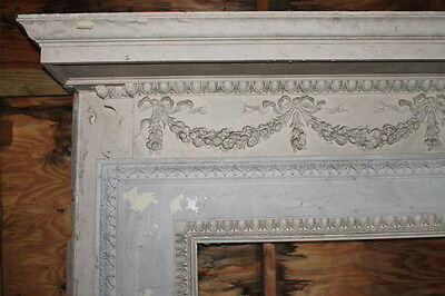 Spectacular Massive Fireplace Mantel Mantle from NY Mansion Palace 3