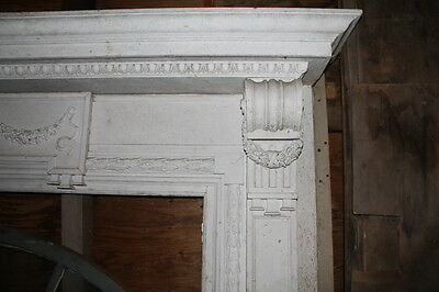 Spectacular Massive Fireplace Mantel Mantle #2 from NY Mansion Palace 2
