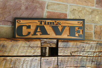 Western Home Decor Rustic Old West Style Signs Personalized Custom Carved Wood 10