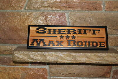 Western Home Decor Rustic Old West Style Signs Personalized Custom Carved Wood 4