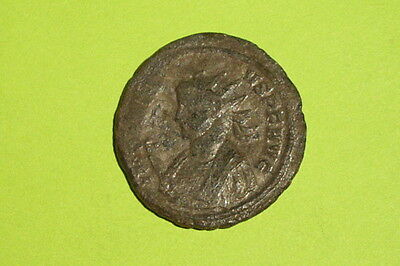 Authentic Ancient ROMAN COIN temple Roma PROBUS 276 AD-282 AD old antique VG-VF 2