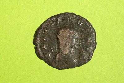 RARE Ancient ROMAN COIN securitas GALLIENUS 253-268 AD column old treasure money 2