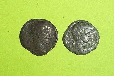 COLLECTION Ancient ROMAN limes denarius SEPTIMIUS SEVERUS & GETA 193-211 AD lot 2