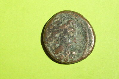 GREEK COIN of SELEUCIS PIERIA ANTIOCH ORONTEM 100 BC seleucid ZEUS Nike rare old