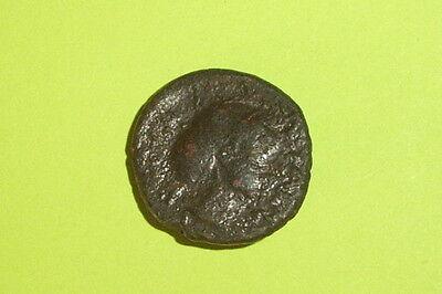 RARE Ancient GREEK COIN nymph PHALANNA THESSALY 400 BC-344 BC sakkos Sear 2180 2