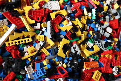 1 Kg Lego Steine, Platten, Räder - Sondersteine-Kiloware Gemischt ca.700 Teile 2