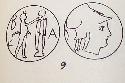 Ancient GREEK COIN pan trophy ANTIGONUS GONATAS 277 BC - 239 BC goddess Athena 3