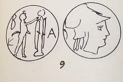 Antigonus Gonatas 239 BC ancient GREEK COIN pan trophy Athena goddess G treasure 3