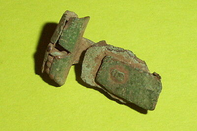 Ancient ROMAN ROSETTE THISTLE BROOCH 100 AD fibula jewelry old artifact antique 5