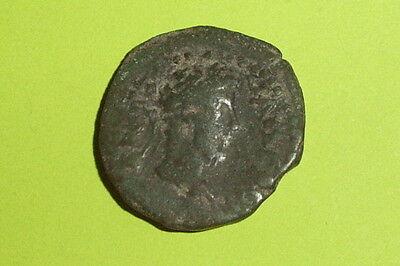 RARE Ancient ROMAN COIN zeus ammon COMMODUS 166-192 AD CASSANDREA MACEDONIA old 2