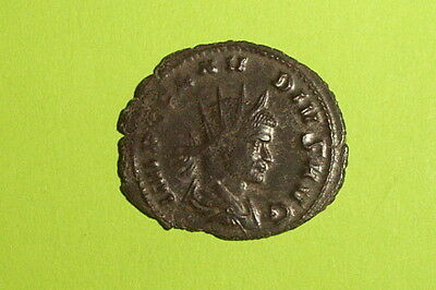 CHOICE Ancient ROMAN COIN goddess CLAUDIUS II GOTHICUS wheat harvest VF boat old 2