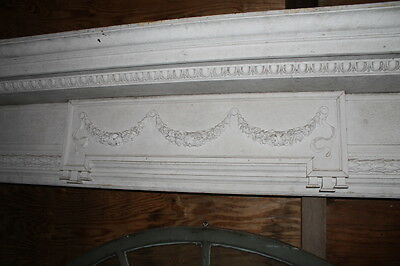 Spectacular Massive Fireplace Mantel Mantle #2 from NY Mansion Palace 3