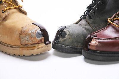 38a39155cc7 TUFF TOE POLYURETHANE Work Boot Repair Protector Black Brown Tan White Red  Blue