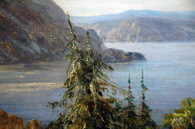 19th Century Oil Painting Nikolai Petrovich Bogdanov-Bel'sky (Russian) 8