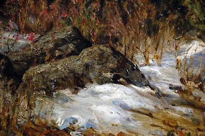 19th Century Oil Painting Nikolai Petrovich Bogdanov-Bel'sky (Russian) 7