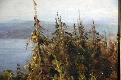 19th Century Oil Painting Nikolai Petrovich Bogdanov-Bel'sky (Russian) 4