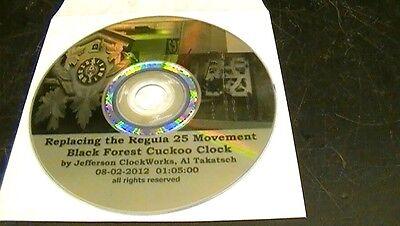 Clock Repair DVD Video - Replace Cuckoo Clock Regula Movement Yourself 2